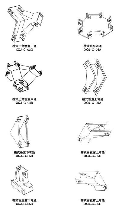 钢制槽式电缆桥架