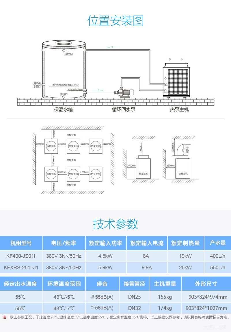 7P空气能热泵热水器,贵阳空气能热泵热水器安装