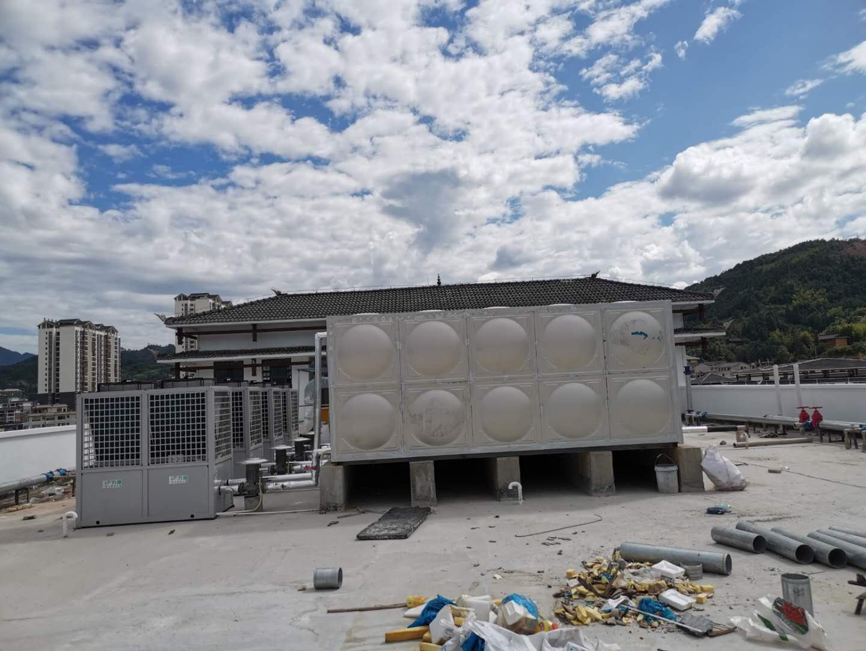 贵阳学校宿舍空气能热水器安装