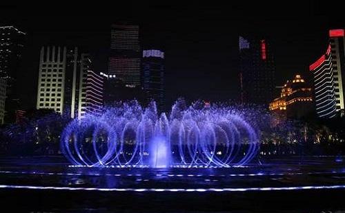 景观的大型音乐喷泉设计如何进行