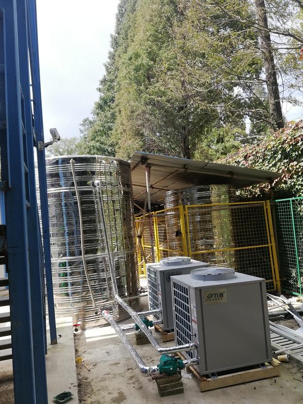 龍湖地産工地空氣能熱水器裝置案例