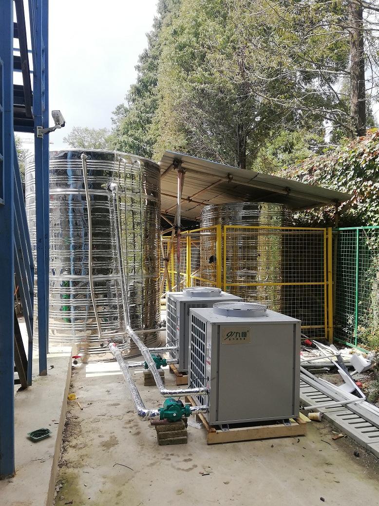 臺南工地空氣能熱水器裝置
