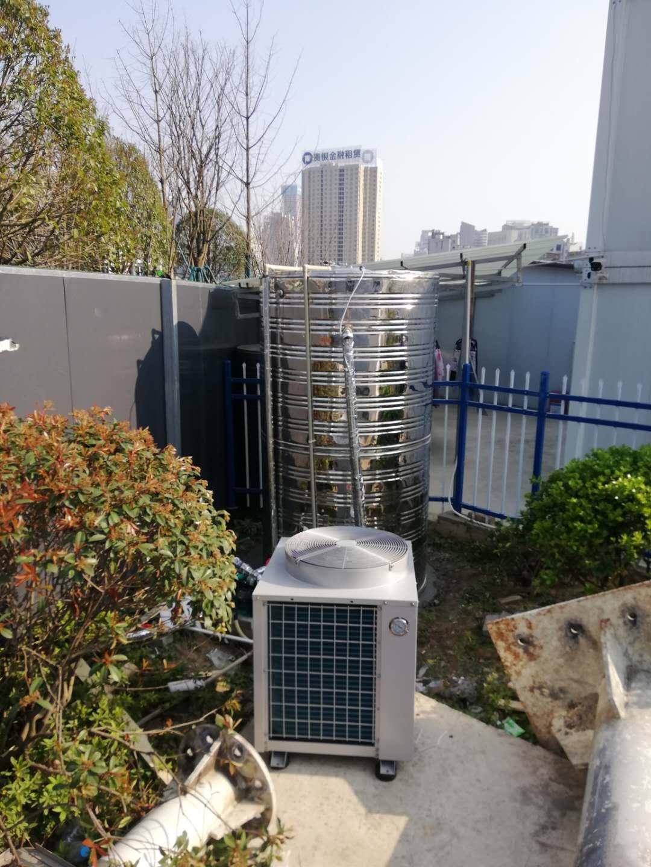 工地空气能热水器安装