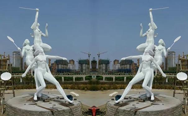 贵州雕塑讲解摆放动物铜雕塑的讲究
