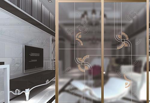 艺术玻璃在门窗的应用及前景