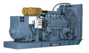 德国曼柴油发电机组(825kw)