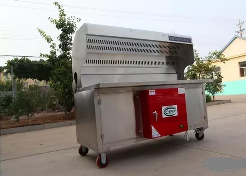 贵阳炭火烧烤车