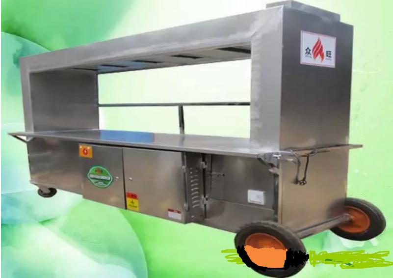 贵阳炭火烧烤车厂家