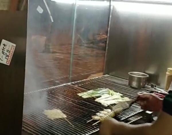 多功能无烟烧烤车案例