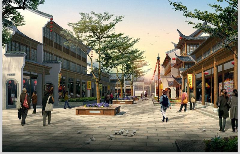 古鎮效果——貴州古鎮建設