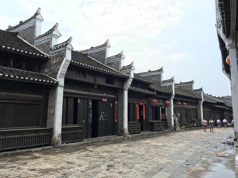 黃平舊州古鎮改造——貴州古街道修建公司