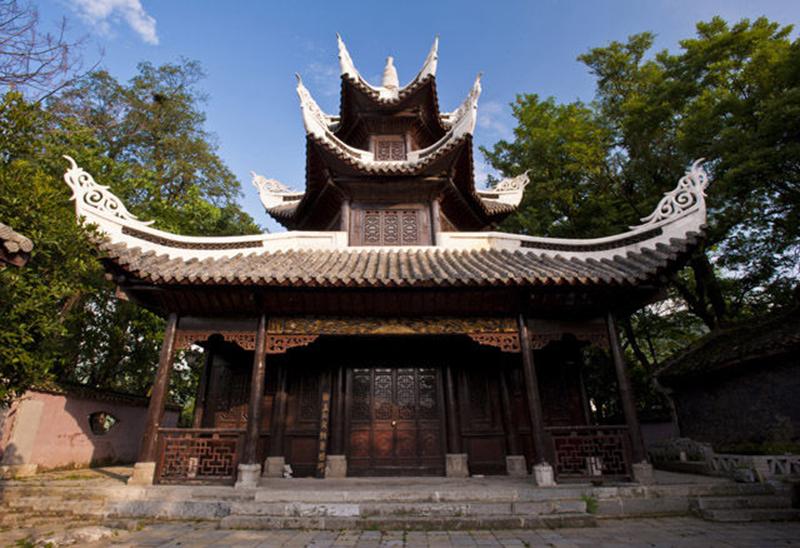 龍里冠山閣樓——貴州樓閣設計