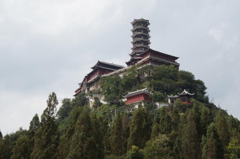 貴州寺廟修建
