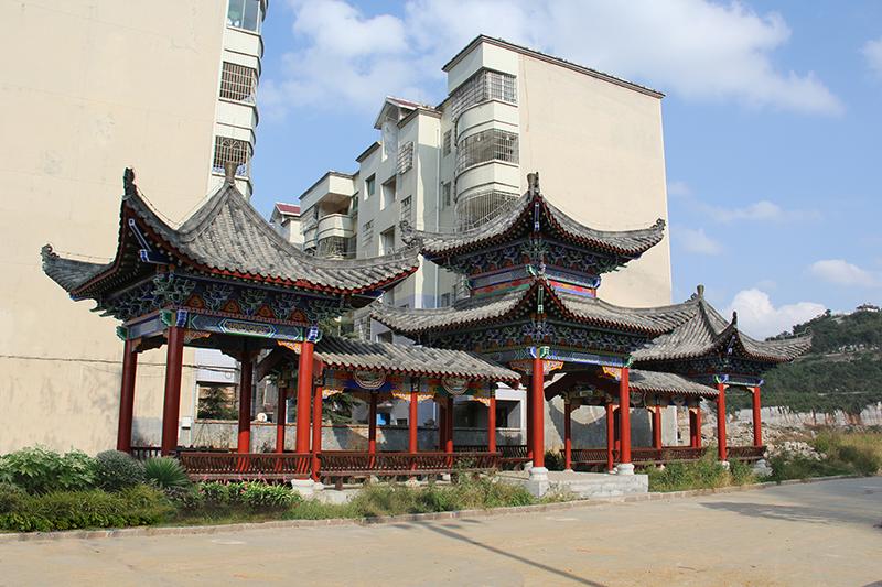 普定廊亭——貴州古建筑