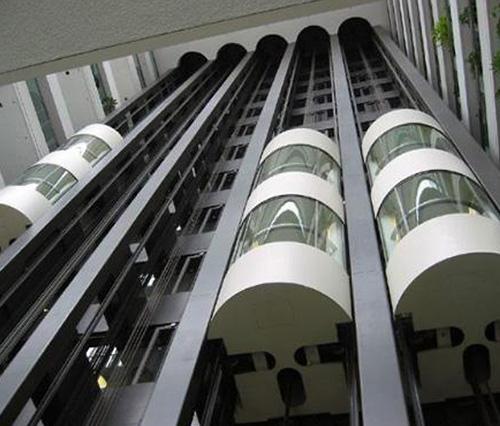 獨山盛源國際A區工程項目——觀光電梯