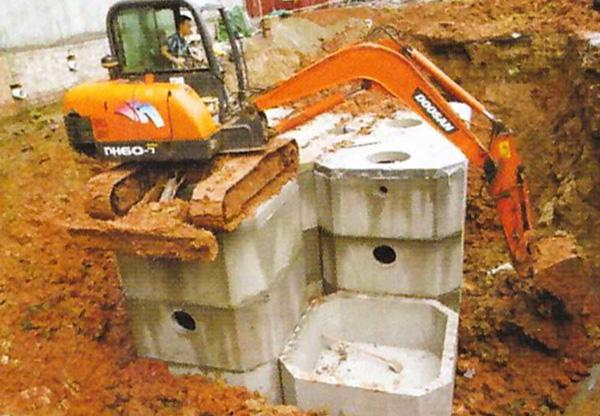 贵州水泥化粪池