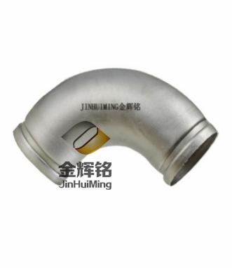 贵州不锈钢水管沟槽式90°弯头