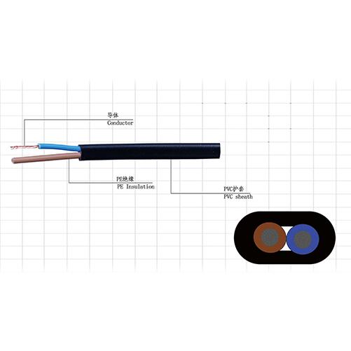 RVVB扁形电源线(监控用线)