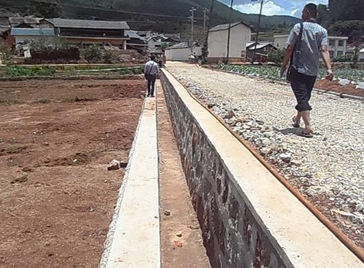 工程案例——云南省施甸縣環城路改造工程