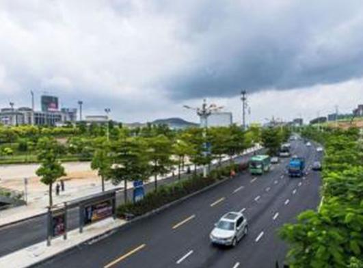 廣西省南寧市道路改造工程