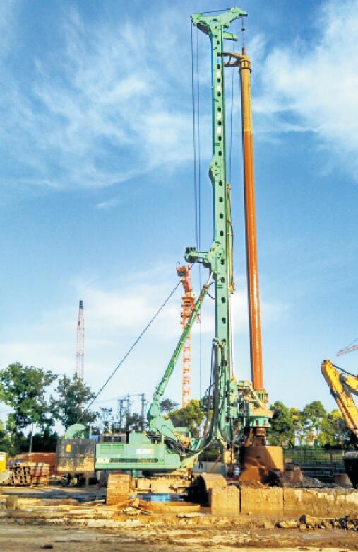 桩基施工的工艺流程