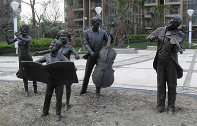 贵州贵阳城市景观雕塑定制厂家为你讲解城市景观雕塑制作的步骤