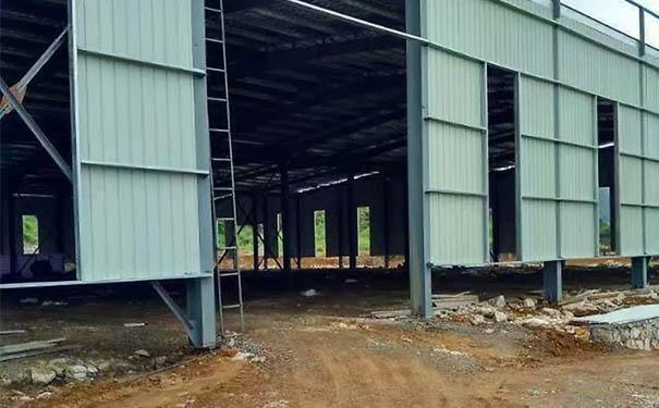 钢结构厂房改色公司