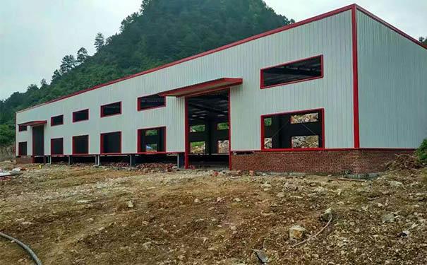 贵州钢结构厂房建设