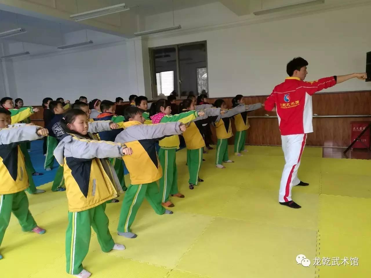 武术进校园贵州少儿武术培训学校把武术带进校园