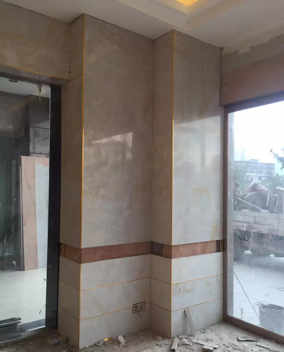 贵州彩瓷板墙面装修
