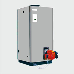 CLHS立式燃气/燃油热(开)水锅炉