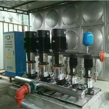 贵阳观山湖金龙酒店恒压变频供水设备项目