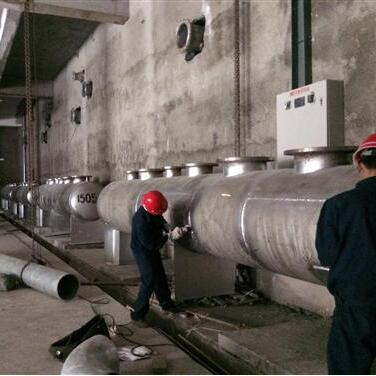 中国电信贵州贵安新区大数据产业园空调不锈钢集分水器项目