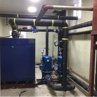 贵州中铝猫场矿420kw卧式常压电热水锅炉供暖工程