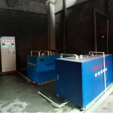 桐梓盘龙中学2台180kw电锅炉工程