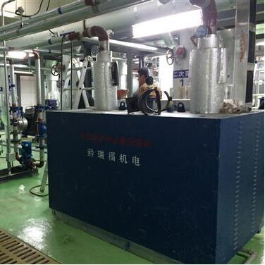 贵阳浩天光电科技200kw电锅炉项目