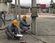 贵州庆仁防雷技术有限公司赴黔西某加油站施工防雷工程
