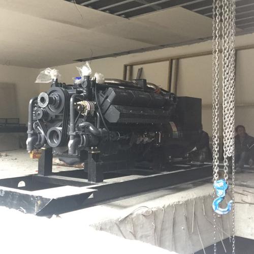 500kw上柴發電機——貴陽發電機組
