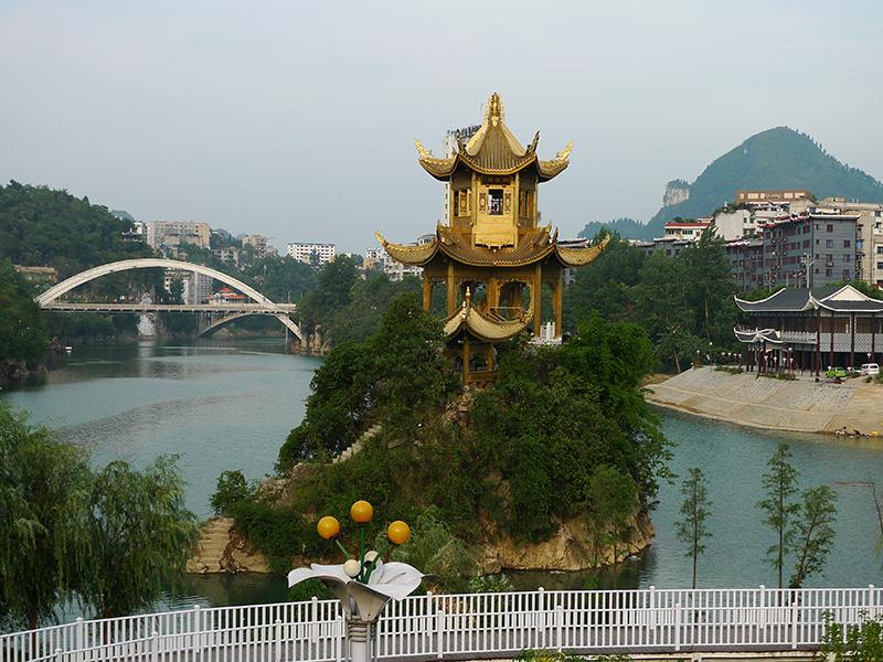 貴州銅巖閣建造