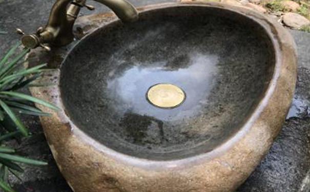 贵阳鹅卵石洗手盆