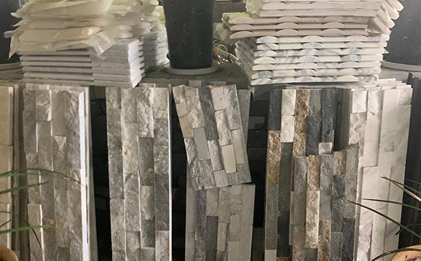 文化石砂岩大小组合