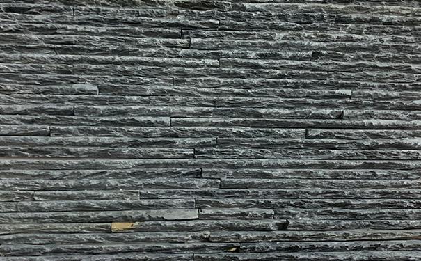 文化石黑色流水板