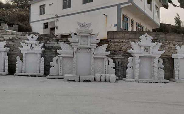 不同规格墓碑