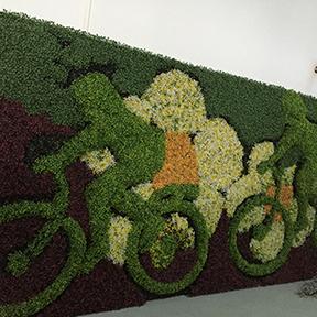 卡通植物雕塑