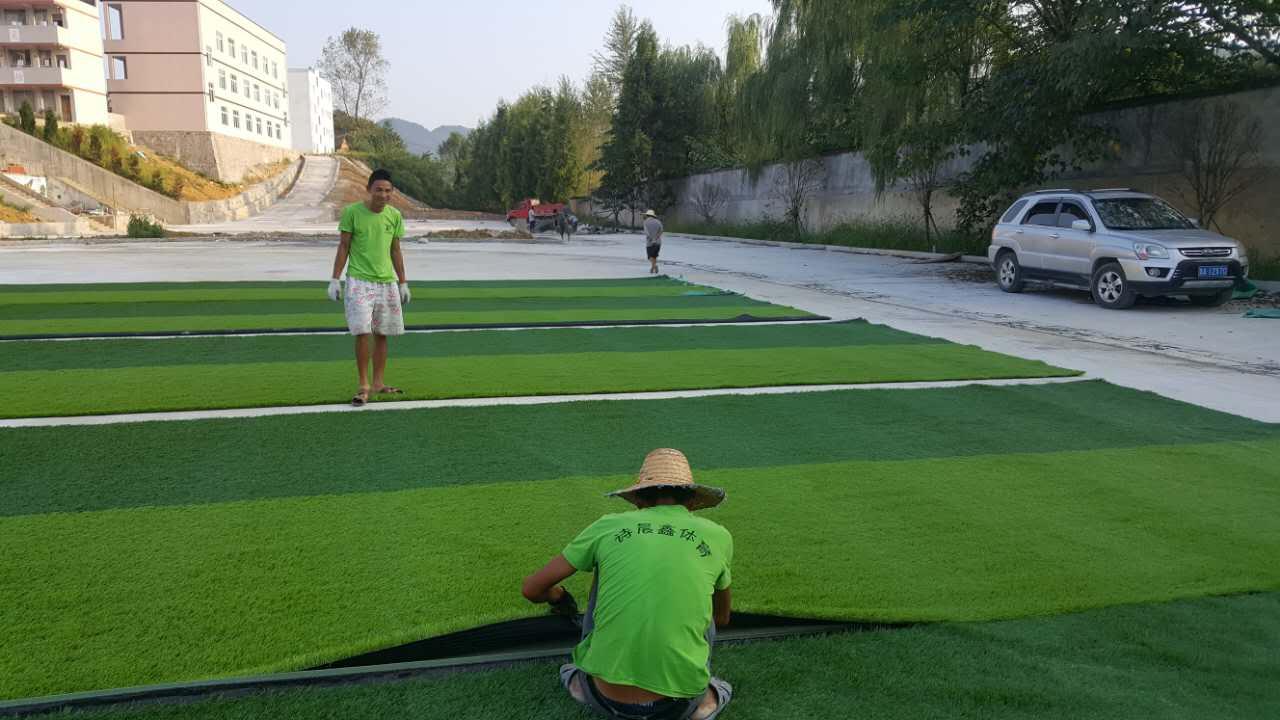 貴陽塑膠球場施工
