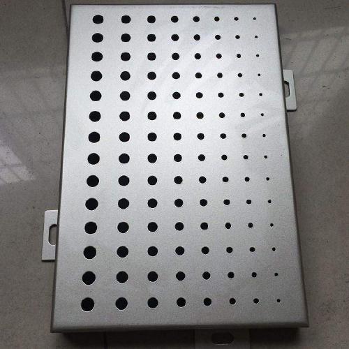 沖孔鋁單板價格