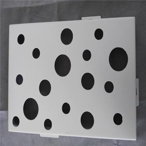 沖孔鋁單板加工