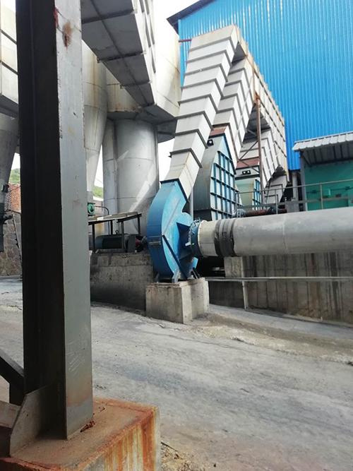 工業矽環保風機安裝