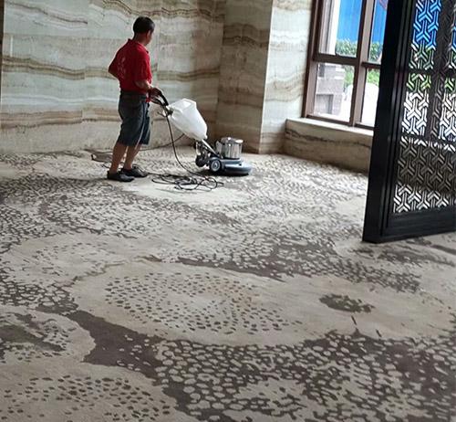 酒店大厅地毯清洗