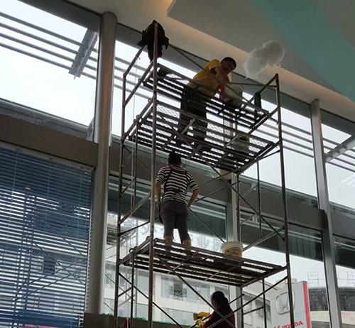 贵州4s店玻璃清洗